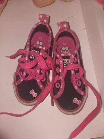 Buty trampki dziewczęce rozmiar 23