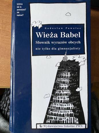 Wieża Babel slownik wyrazow obcych