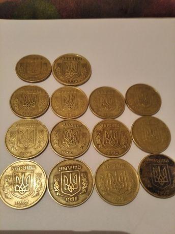 Продам монета СССР 50 копеек 1992 года,15 копеек  1925 года!