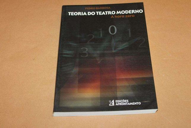 Teoria do Teatro Moderno de Pedro Barbosa
