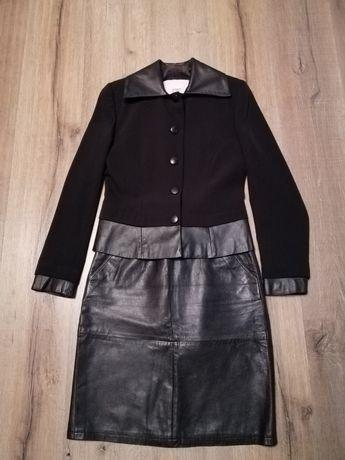 Пиджак, Юбка кожаная Италия,разные юбки