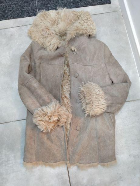 Futro kożuszek kożuch kurtka zimowa futerko L/XL