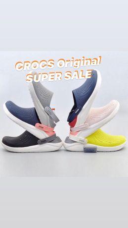 Распродажа Crocs Оригинал США literide clog Сабо Гарантия