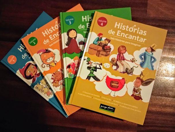 """Livros """"Histórias de Encantar"""" Pingo Doce"""