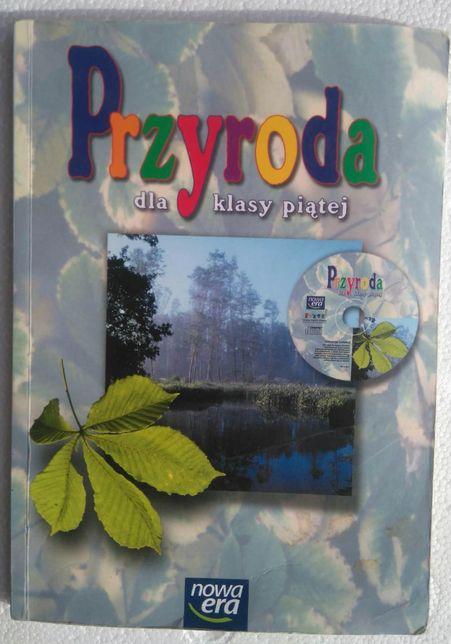 Przyroda dla klasy piątej plus płytka CD
