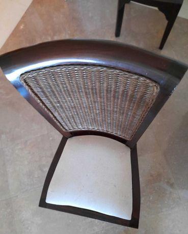 6 Cadeira de sala de jantar para restaurar/ estofar