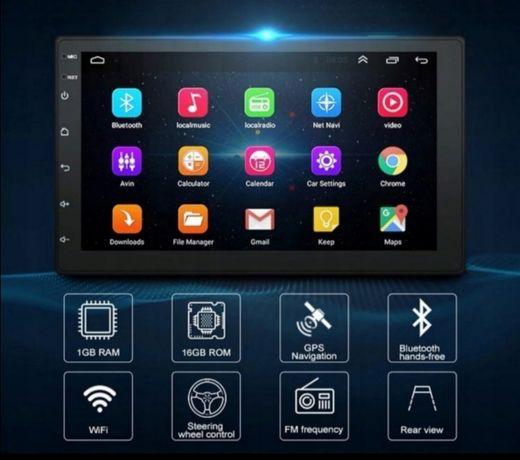 Radio samochodowe android tablet WiFi GPS nawigacja bluetooth