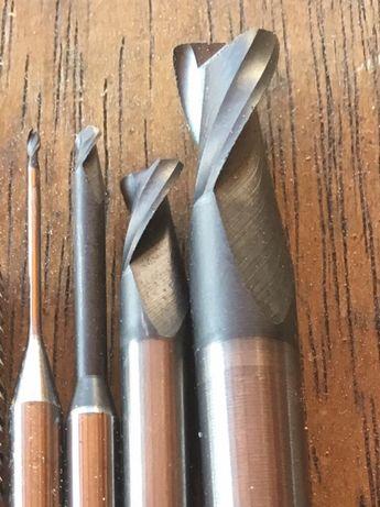Frezy do drewna 0.5, 1, 1.4, 2, 3, 4, 6mm.