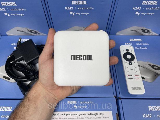 ⫸TV-Приставка для NETFLIX Mecool KM2 2/16ГБ S905X2 АндроидСмартТВKM6ТБ