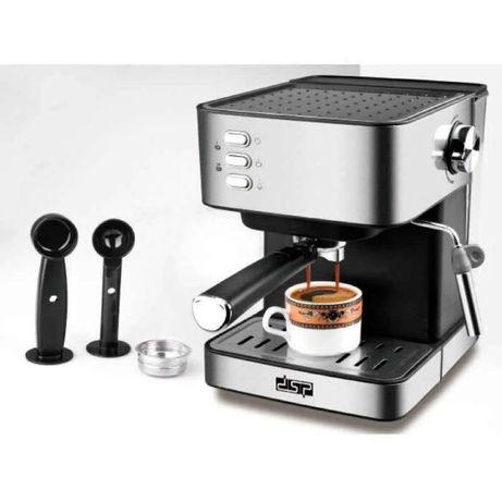 Кофемашина полуавтомат DSP Espresso Coffee Maker KA3028 с капучинаторо