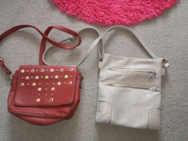 Dwie torebki na ramie