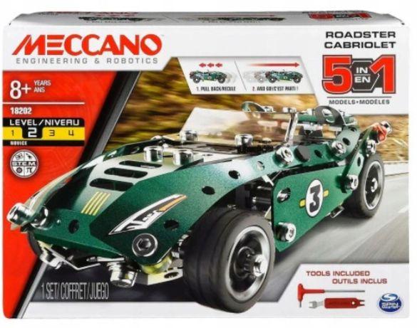Meccano 18202 Roadster Cabriolet 5 w 1 samochód do złożenia model