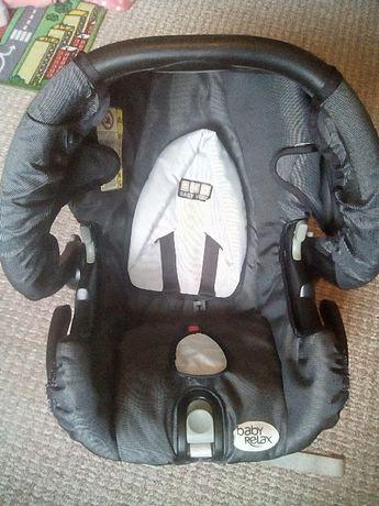 Fotelik samoch., nosidełko Baby Relax bdb