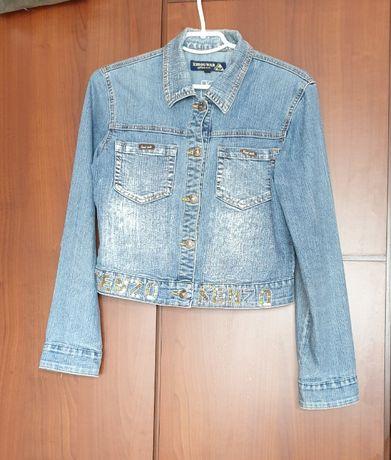 Подросток джинсовая куртка курточка Kenzo