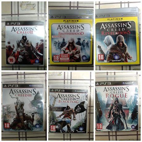 6 Jogos Assassin's Creed