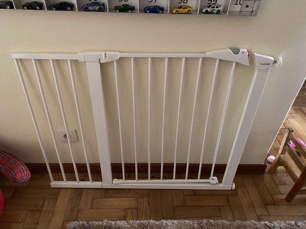 Barreira infantil para escada e extensão