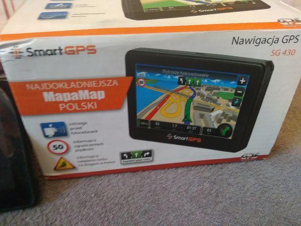 nawigacja samochodowa GPS SG 430 MapaMap Smart GPS