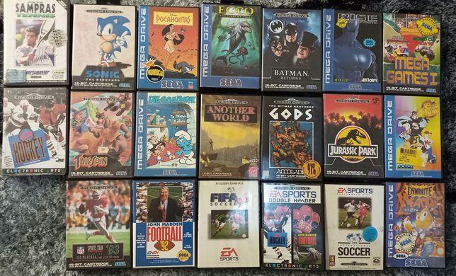 Jogos Mega Drive (com manual)