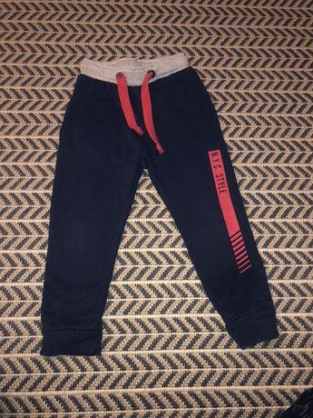 Spodnie dresowe 5-10-15 r. 98