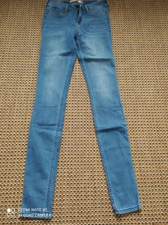 Spodnie hollister w24 L31 nowe wzrost 164 cm