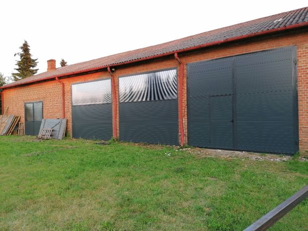 Drzwi inwentarskie drzwi z płyty warstwowej przemysłowe hali obory