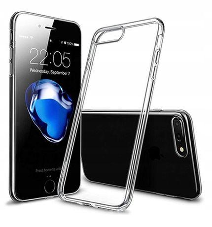Przezroczyste etui slim iPhone 6s Plus + szkło hartowane