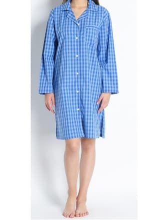 """Koszula nocna """"Nancy"""" w kolorze niebieskim - XL"""