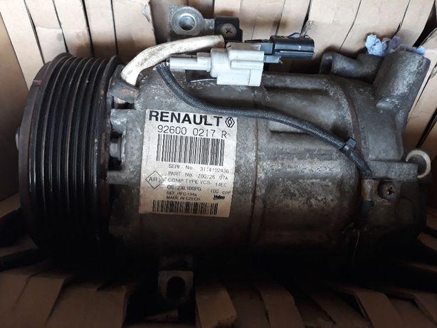 Kompresor sprężarka klimatyzacji Renault Captur 1,2TCE