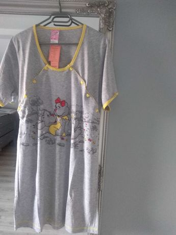 Koszula XL do karmienia nocna