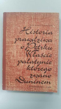 """Książka Józefa Kraszewskiego pt. """"Historia prawdziwa o Petrku Właście"""""""