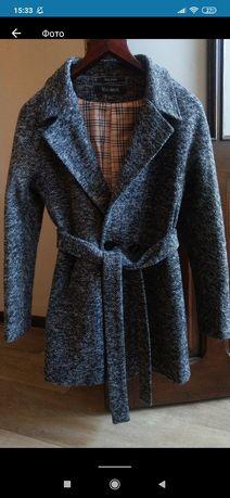 Пальто кардиган на осень