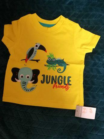 Nowa bluzka bluzeczka koszulka rozmiar 68
