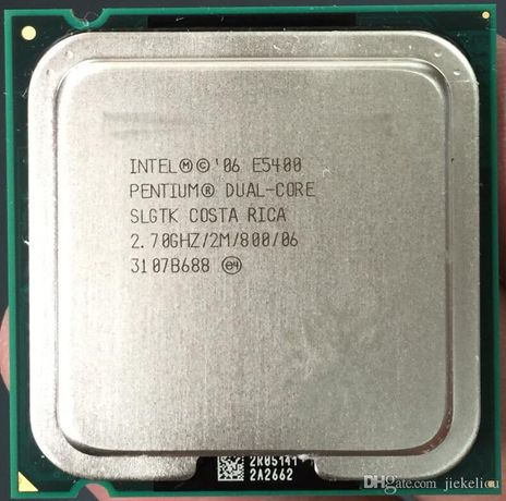 2x Intel Pentium dual core e5400 2x2.7Ghz