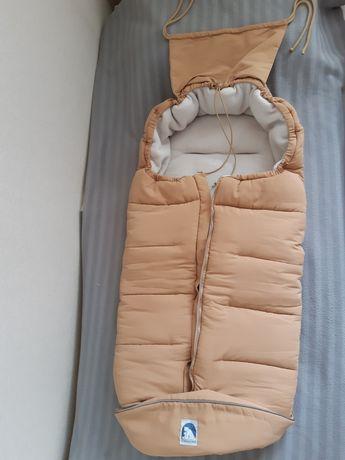 Зимний тёплый конверт Eisbarchen в идеальном состоянии