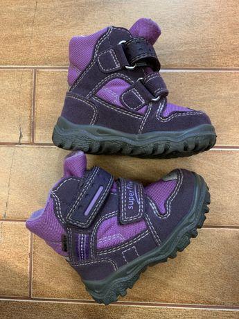 Зимові черевики суперфіт superfit gore-tex мембрана20 розмір є коробка