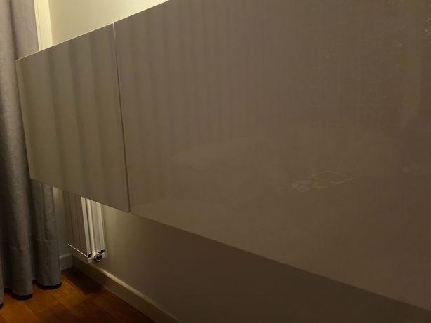 Aparador parede branco lacado