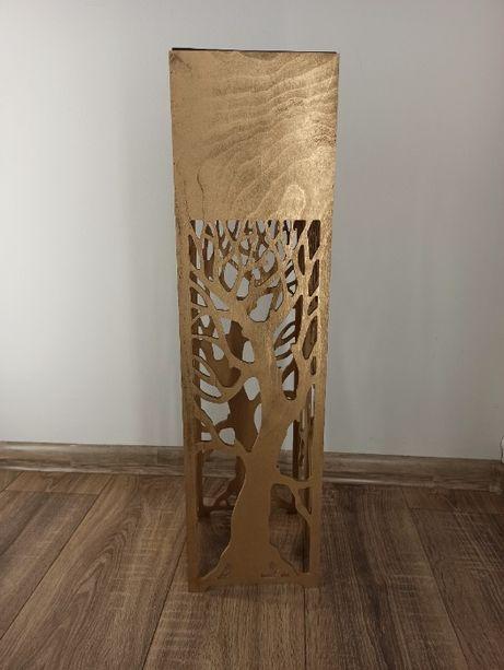Kwietnik, Donica ażurowa wysoka 70 cm WZORY