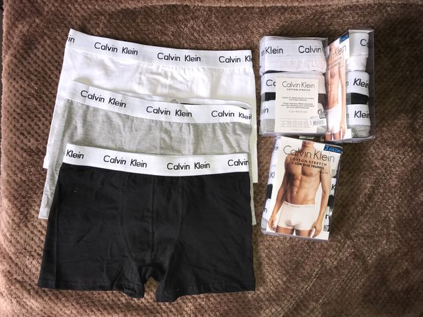 Набор мужской Calvin Klein трусы боксеры мужские 3 шт
