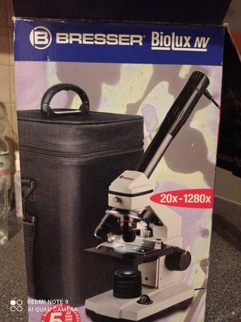 Mikroskop Bresser Biolux nv PC 20x-1280x nowy