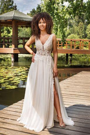 Polecam nową suknię ślubną