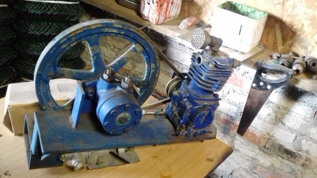 Instalacja pneumatyczna do ciągnika z hamulcami hydraulicznymi