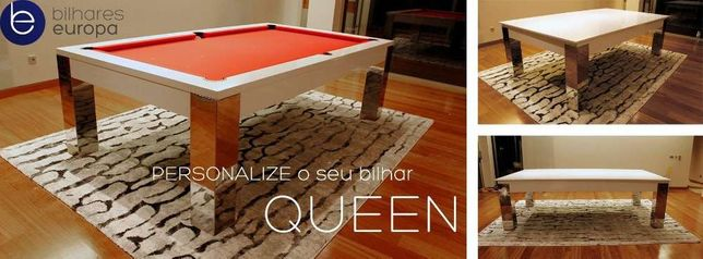 Bilhares europa Fabricante mod Queen luxury oferta tampo jantar