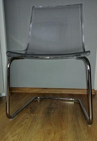 krzesło - Ikea - Tobias - przezroczyste