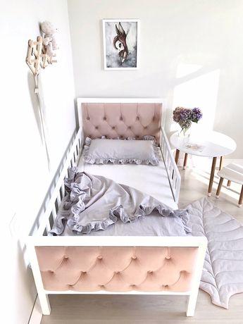 В НАЛИЧИИ Дубовая детская кровать,подросковая кровать, дитяче ліжко