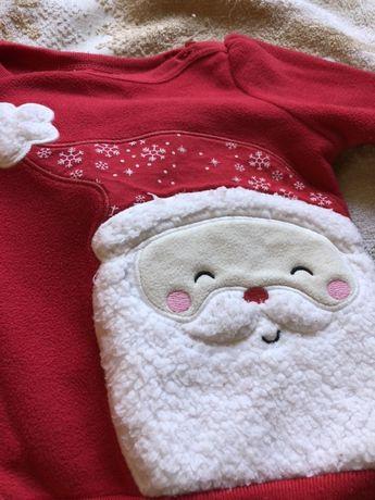 Продам новогодний нарядный костюм Carters и в подарок отдам человечек