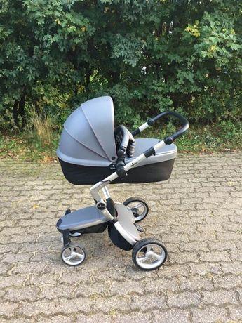 Детская коляска Mima Xari cool grey шасси aluminium 2в1