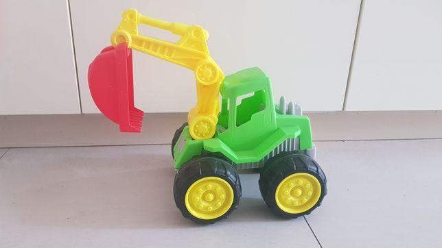 Duża koparka, zabawka do piasku