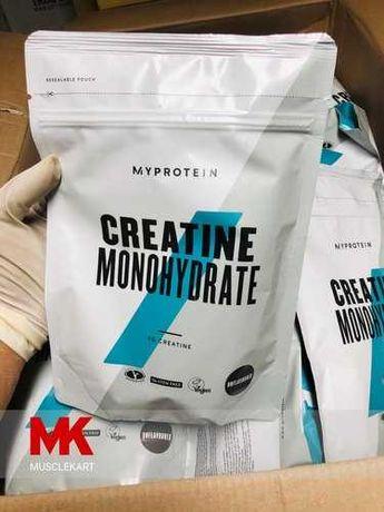 Новый креатин от Myprotein 500гр 1кг разные вкусы