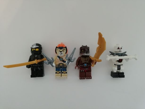 Figurki Lego ninjago 4 sztuki