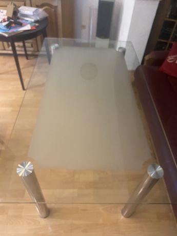 Stół szklany 160